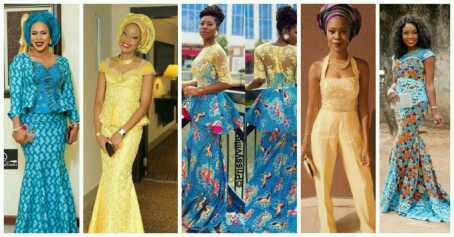 10 Beautiful Asoebi and Ankara Styles –Over the Weekend.