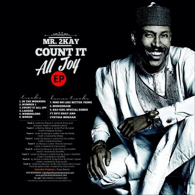 "COVER ART + TRACKLIST | Mr 2kay – ""Count It All Joy"""