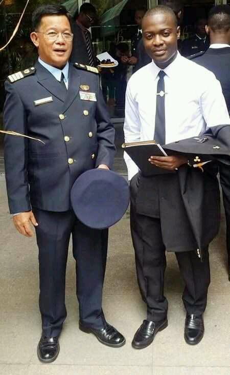 Nigerian Students Sent by Goodluck Jonathan to Study Maritime in Philippines Graduate (Photos)