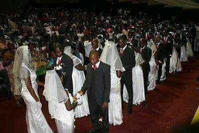 Catholic Bishop Weds 109 Couples In Nasarawa