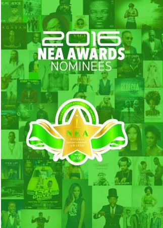 Nigerian Entertainment Awards (NEA) 2016 Full Nominations List