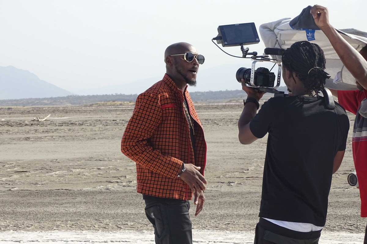 BTS Video From Tuface's Latest Shoot