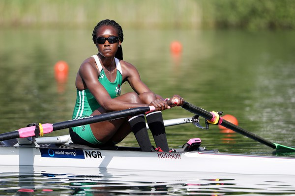 #Rio2016 #Olympics: Rowing: Nigeria's Chierika Ukogu through to semi final