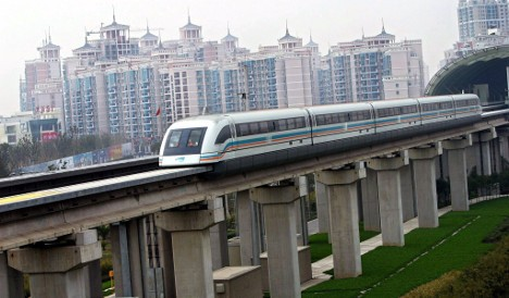 Berlin mulls plan for magnetic levitation train to new airport