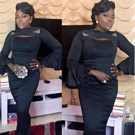 At Last.! Actress Funke Akindele Is Finally Pregnant, Shows Off Her Baby Bump In Lovely New Photos