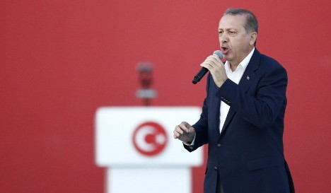 Turkey accuses Germany of 'harbouring terrorists'