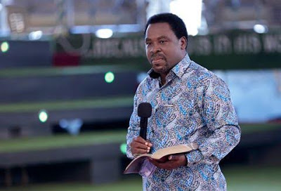 T.B Joshua reacts to allegations of being in Ghana to help 'rig' their Presidential election (Video)