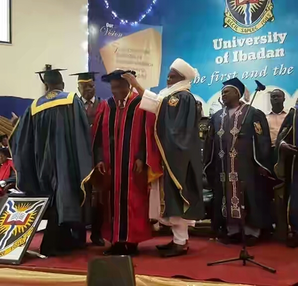 Image result for Photos: Aliko Dangote honored with a doctorate degree by the University of Ibadan