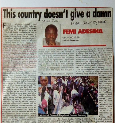See What Femi Adesina Said 4 Years Ago That May Come Back To Haunt Him