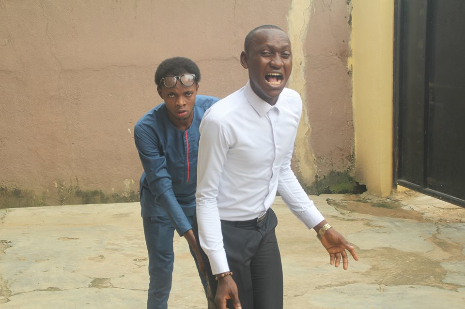 Lord 's Chosen G .O. , Lazarus Muoka arrests Comedy Crew, NaijasCraziest over a comedy satire video they made of lord chosen members rolling in the mud