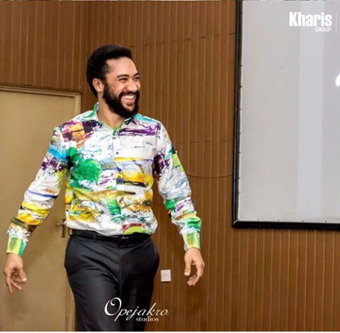 Actor Turned Pastor Majid Michel Seen Preaching To A Church Congregation (PHOTOS)