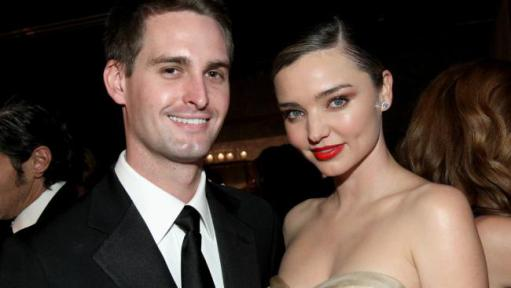 Snapchat CEO marries in a very private ceremony