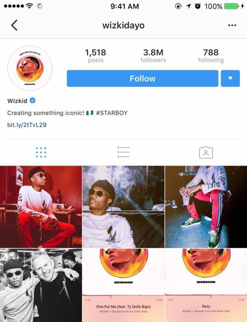 Ghen Ghen! Wizkid unfollows Drake on Instagram