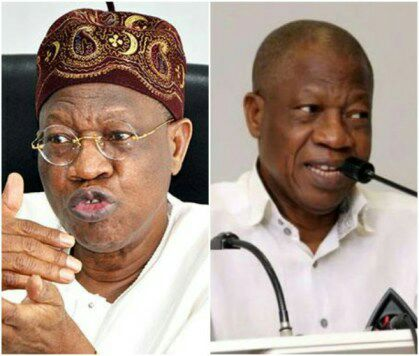 Lai Mohammed denies FG's plan to ban overseas production of films