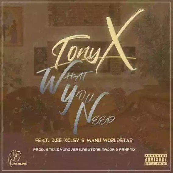 Tony X Ft. Dee XCLSV & Manu Worldstar – What You Need