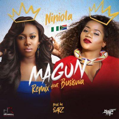 DOWNLOAD: Niniola – Magun (Remix) ft. Busiswa MP3