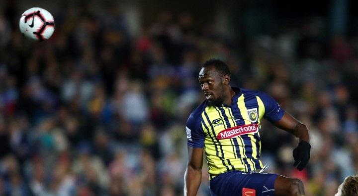 Photos: Usain Bolt Makes Football Debut