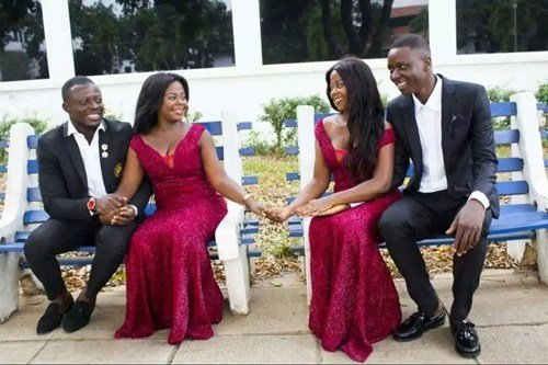 ADORABLE! Twin Sisters With SAME NAME… Set To Marry Two Brothers With SAME NAMES On SAME DAY!!! (Pre-Wedding Photos)