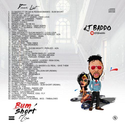 MIXTAPE | DJ Baddo – Bum Short Mixtape