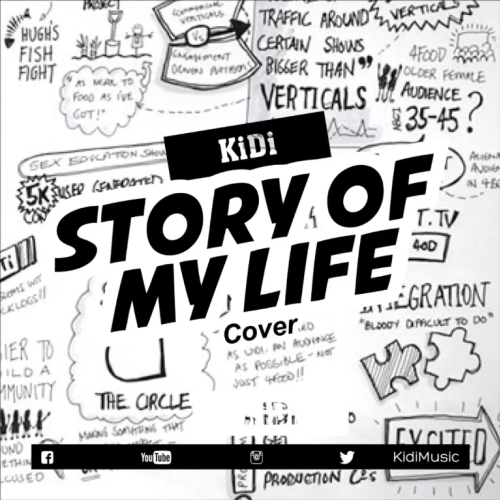 DOWNLOAD MP3: KiDi ft. Cina Soul – Story Of My Life (Cover)