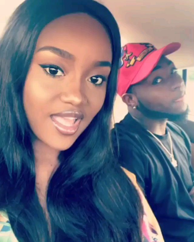 """""""If you leave me water go carry you o"""" – Chioma tells her boo, Davido in her birthday message to him"""