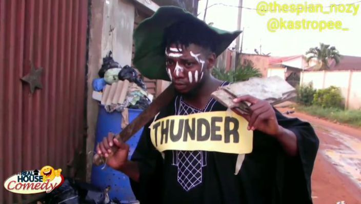Comedy Video: Thespian Nozy X Kastropee – Mr Thunder