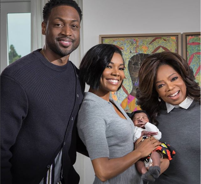 American actress, Gabrielle Union and Dwyane Wade welcome first child via surrogate