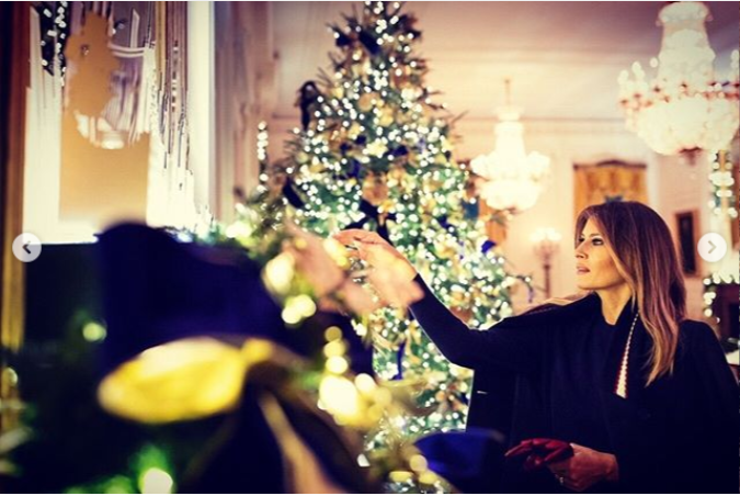 See White House 2018 Christmas Decorations