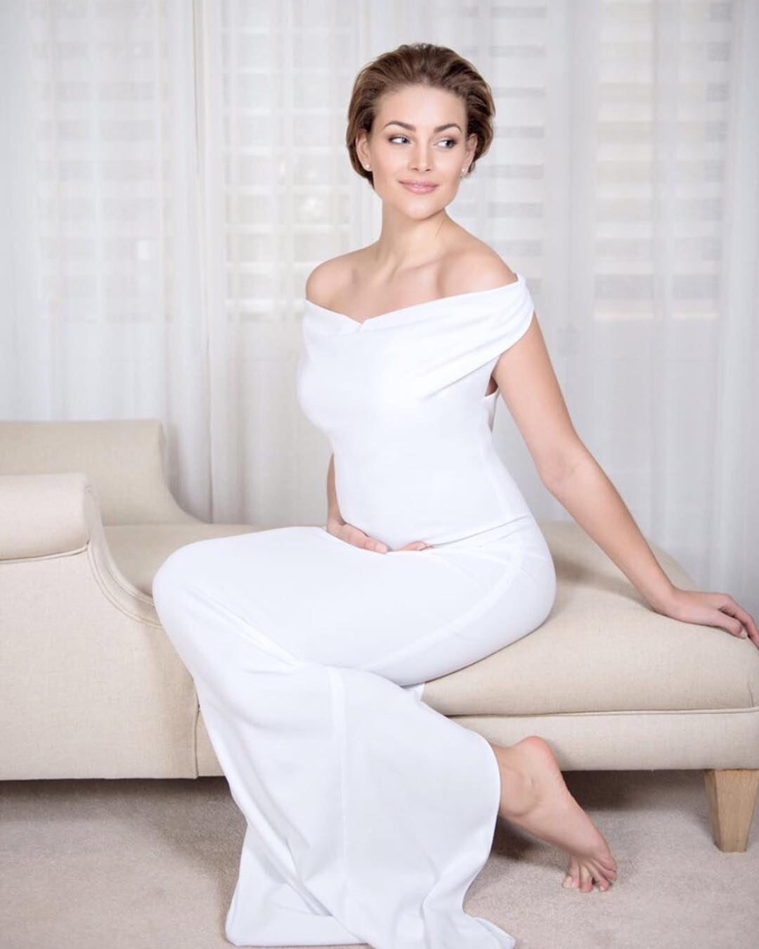 Former Miss World Rolene Strauss confirms pregnancy via YouTube game