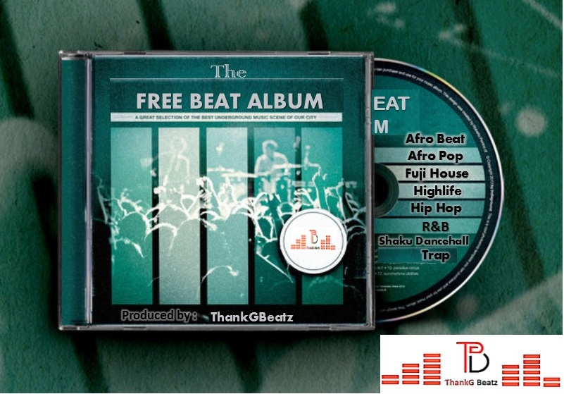 Download FreeBeat Album: Hip Hop x Afro Pop x Dancehall x