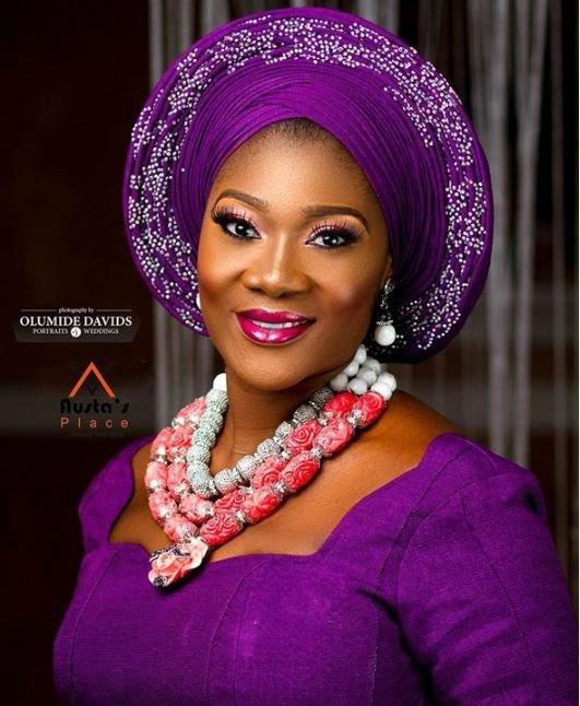 Nollywood actress Mercy Johnson stuns in traditional attire (Photos)