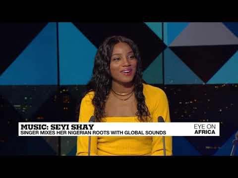 VIDEO: Seyi Shay Talks Afrobeats on France24