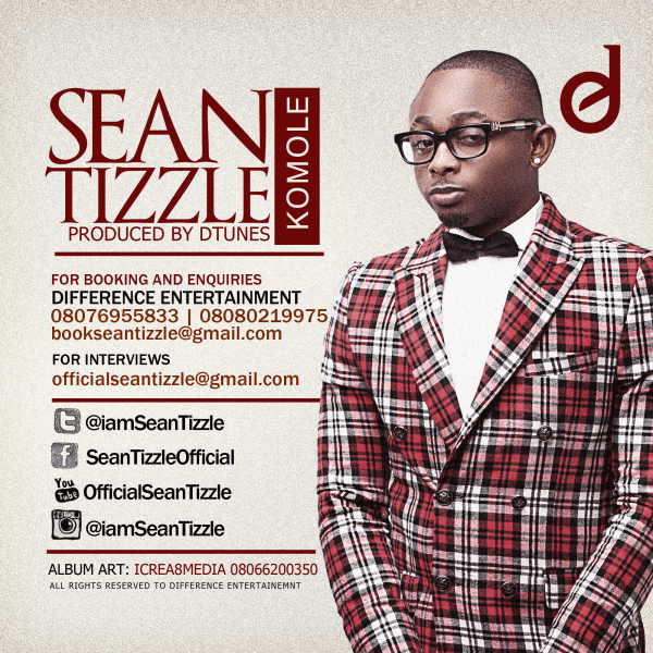 DOWNLOAD: Sean Tizzle – Komole (mp3)