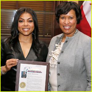 """Washington DC Mayor proclaims February 8th as """"Taraji P. Henson Day"""" (Photos)"""