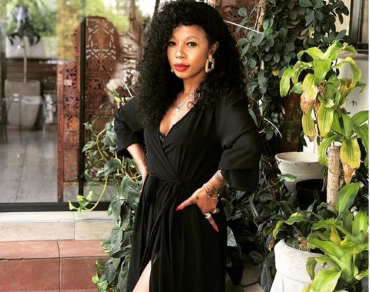 """Watch: Kelly Khumalo on Approaching Method – """"Watch your mouth…"""""""