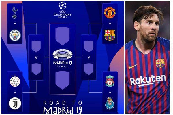2018/19 UEFA Champions League semi finals fixtures • illuminaija