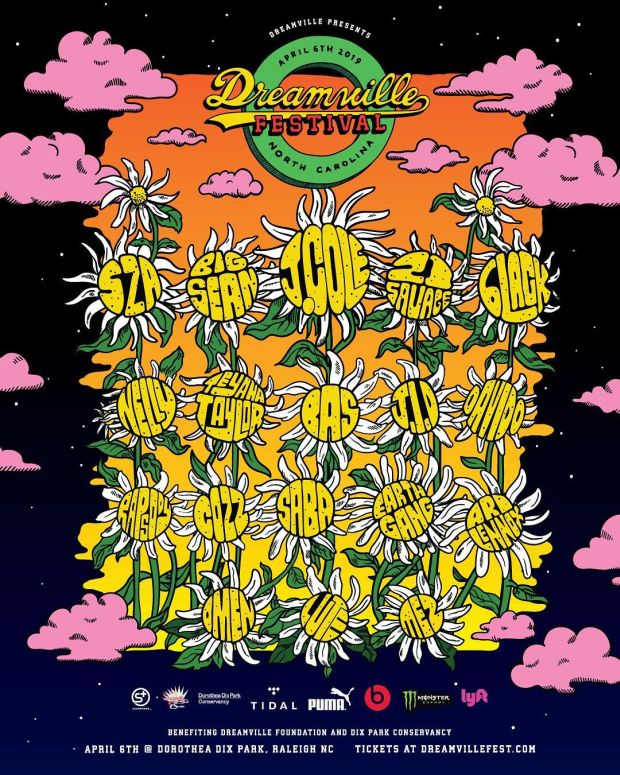 Checkout The 2019 Dreamville Festival Lineup
