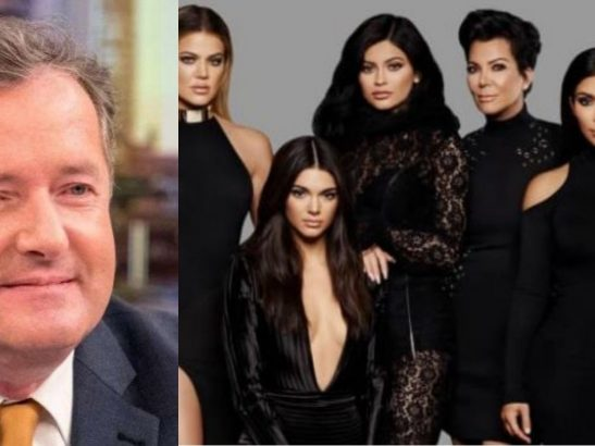 Piers Morgan slams the entire Kardashian and Jenner family