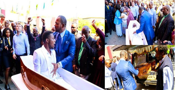 South African Pastor Alph Lukau Sued For Staging Fake Resurrection