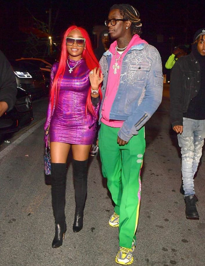 """I hope you die with me': Young Thug to girlfriend Jerrika Karlae Hauser"