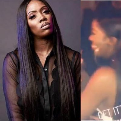 VIDEO: The Viral Moment Tiwa Savage was Dancing with Only Bra