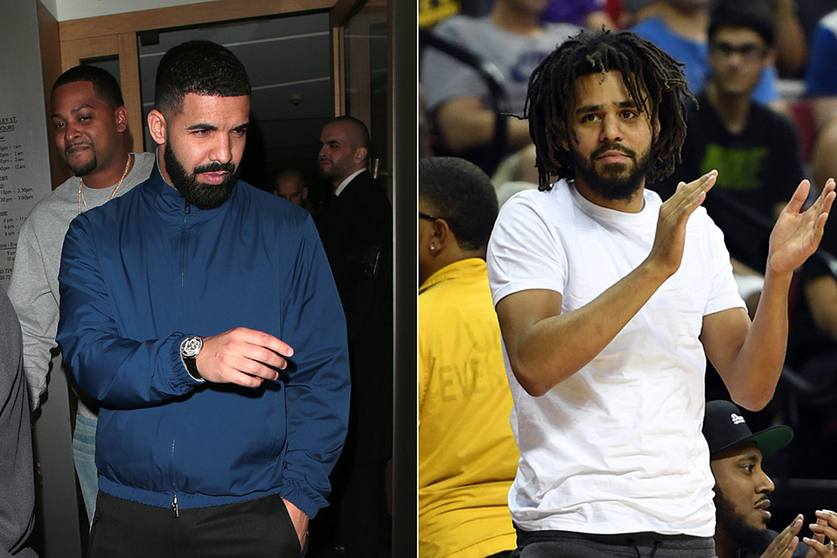 J.Cole Says Drake Is The Greatest Rapper In The Hip-Hop Game