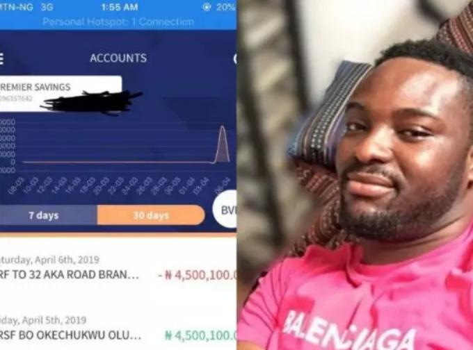 Music producer Austynobeatz returns 4.5million mistakenly sent into his account