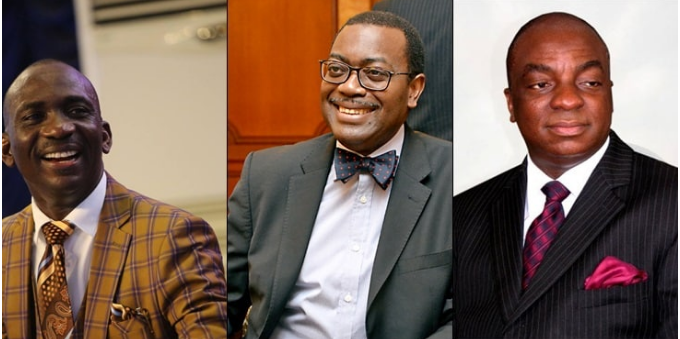 Oyedepo, Enenche, five other Nigerians listed among 100 most reputable people on earth for 2019 (see full list)