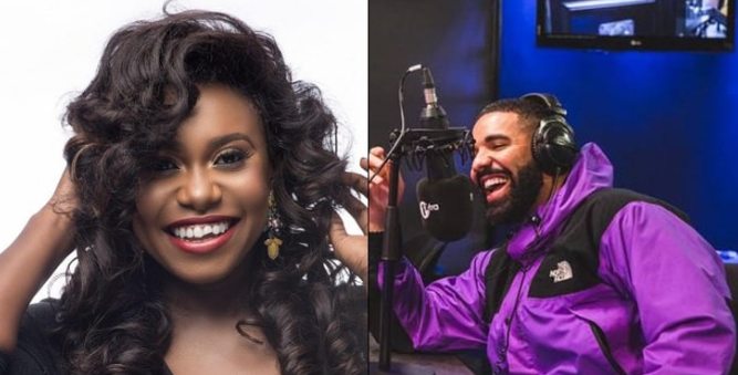 Drake Requests For Niniola's Song On Radio, She Reacts