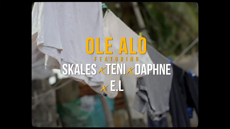 VIDEO: DJ SLY ft. Teni, Skales, Daphne, E.L – Ole Alo