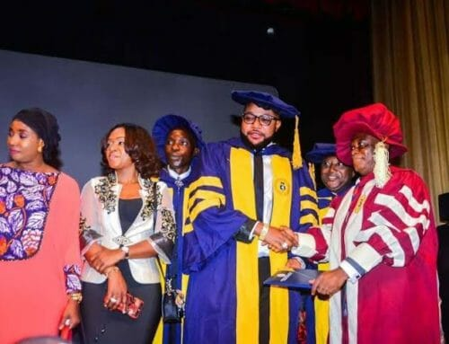 E-Money's Honorary Doctorate from the European-American University, not UNILAG