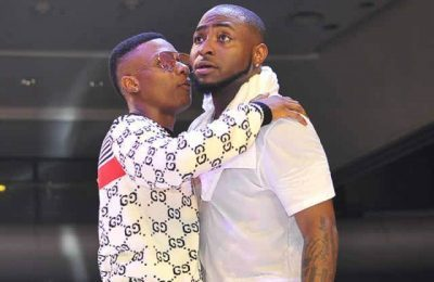 Wizkid Shows Love To Davido At Festival In Amsterdam (Watch Video)