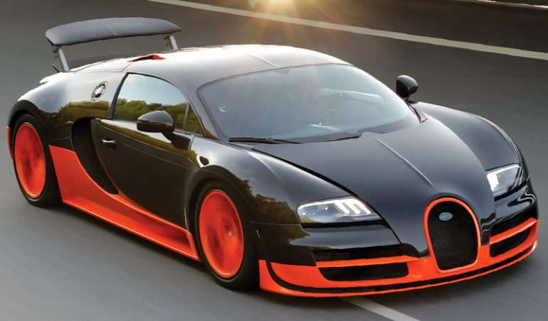 See The N1billion Bugatti Veyron Spotted In Nigeria (Video)
