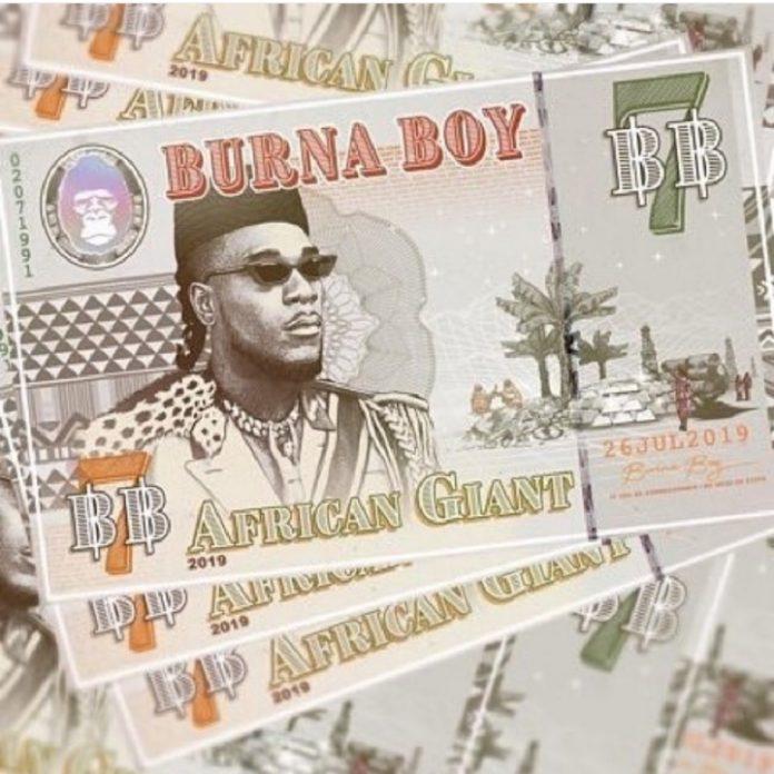 ALBUM: Burna Boy – African Giant (Full Album mp3 Download)